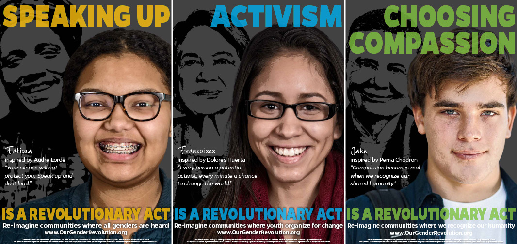 High School Poster: Speaking Up, Activism, Choosing Compassion