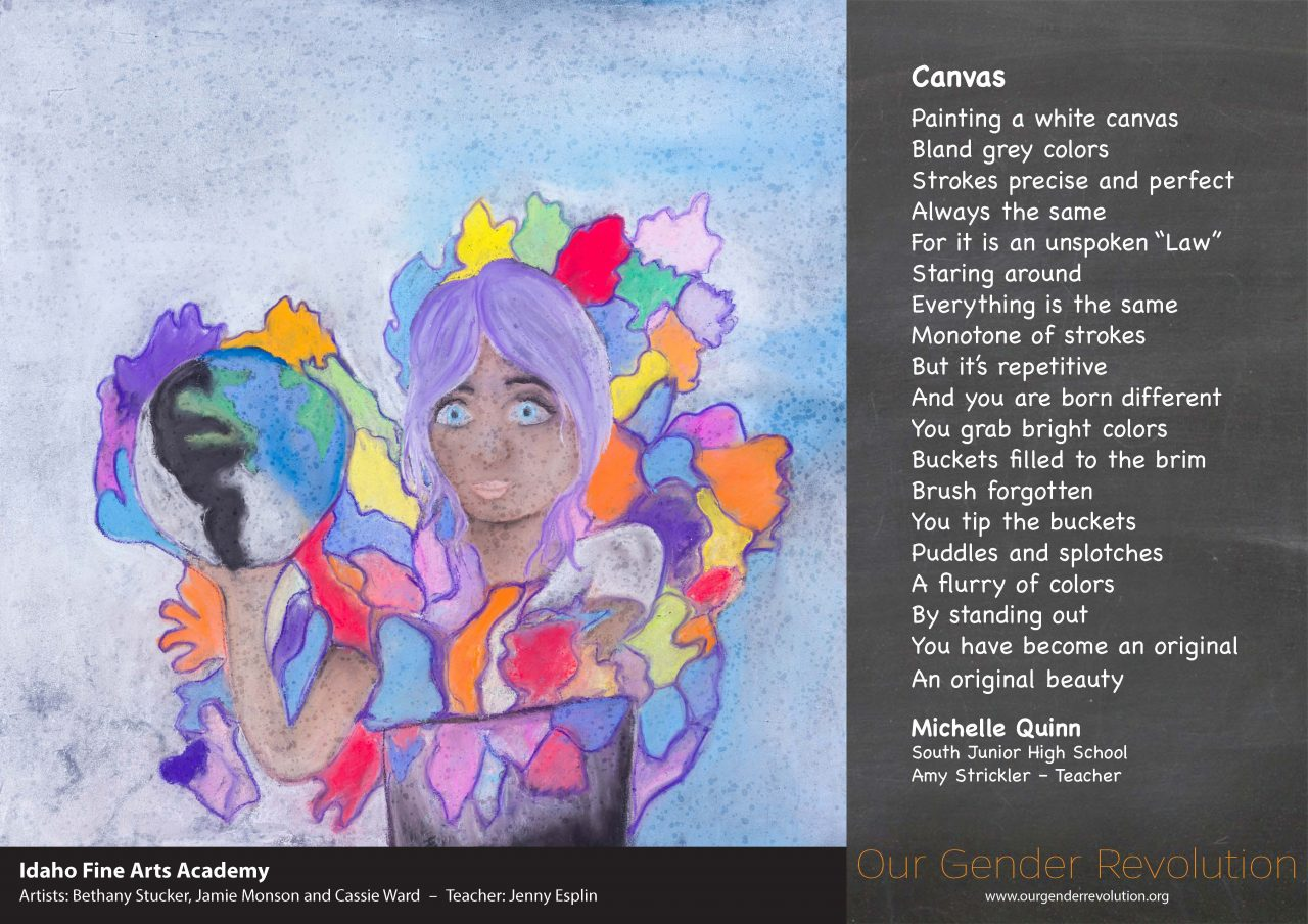 Idaho Fine Arts Academy - Canvas by Michelle Quinn