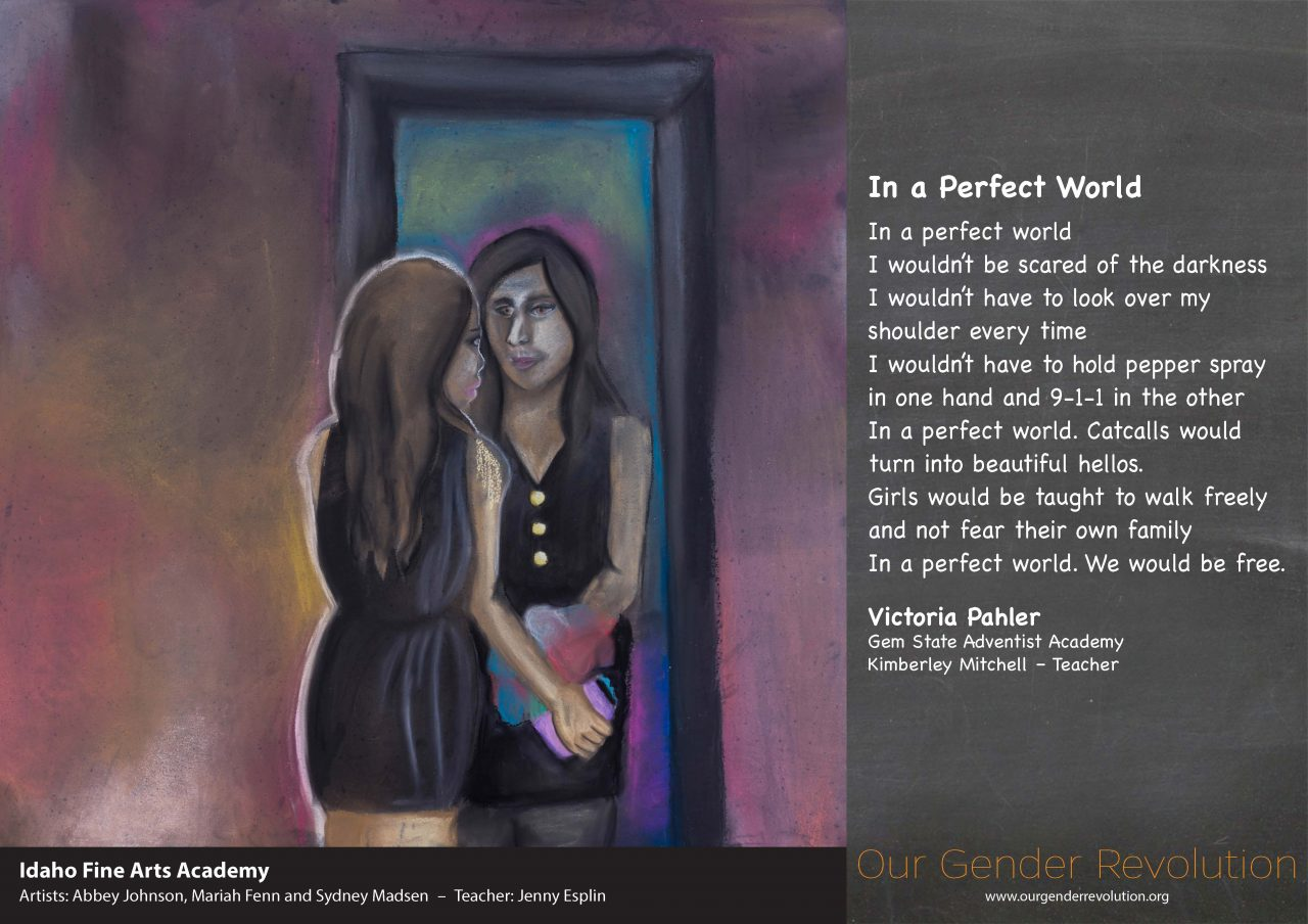 Idaho Fine Arts Academy - In a Perfect World by Victoria Pahler