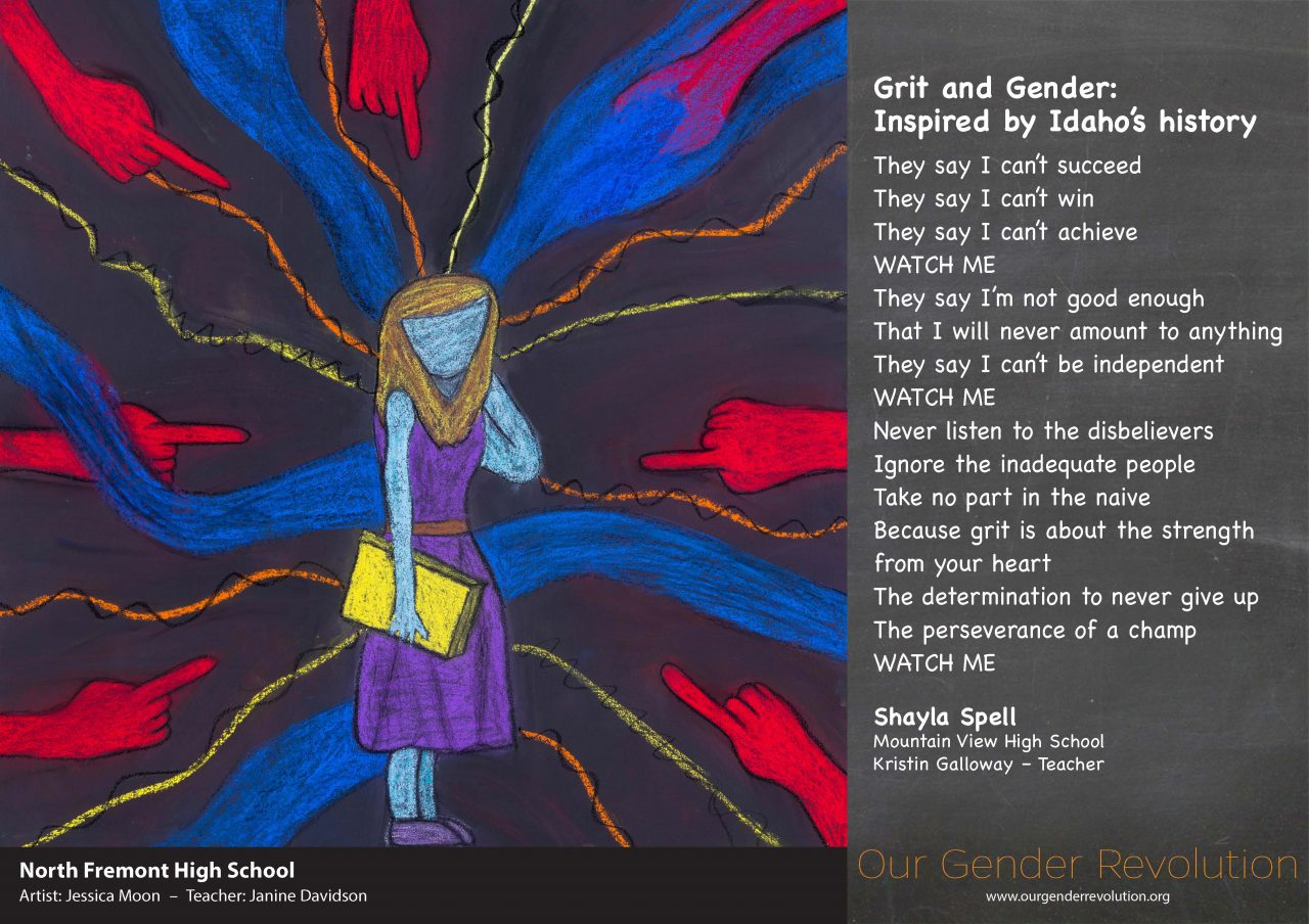 North Fremont High School - Grit and Gender by Shayla Spell