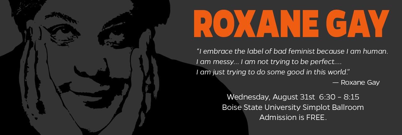 Roxane Gay BSU Event Slide